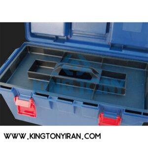 جعبه ابزار فايبر گلاس كينگ توني مدل 87404