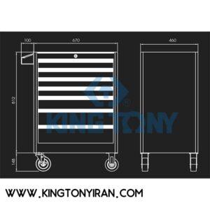 جعبه-ابزار-7-کشوی-کینگ-تونی