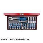 جعبه-بکس-۳۸--درایو-۲۶-عددی-میلیمتری--کینگ-تونی-مدل-3027MR